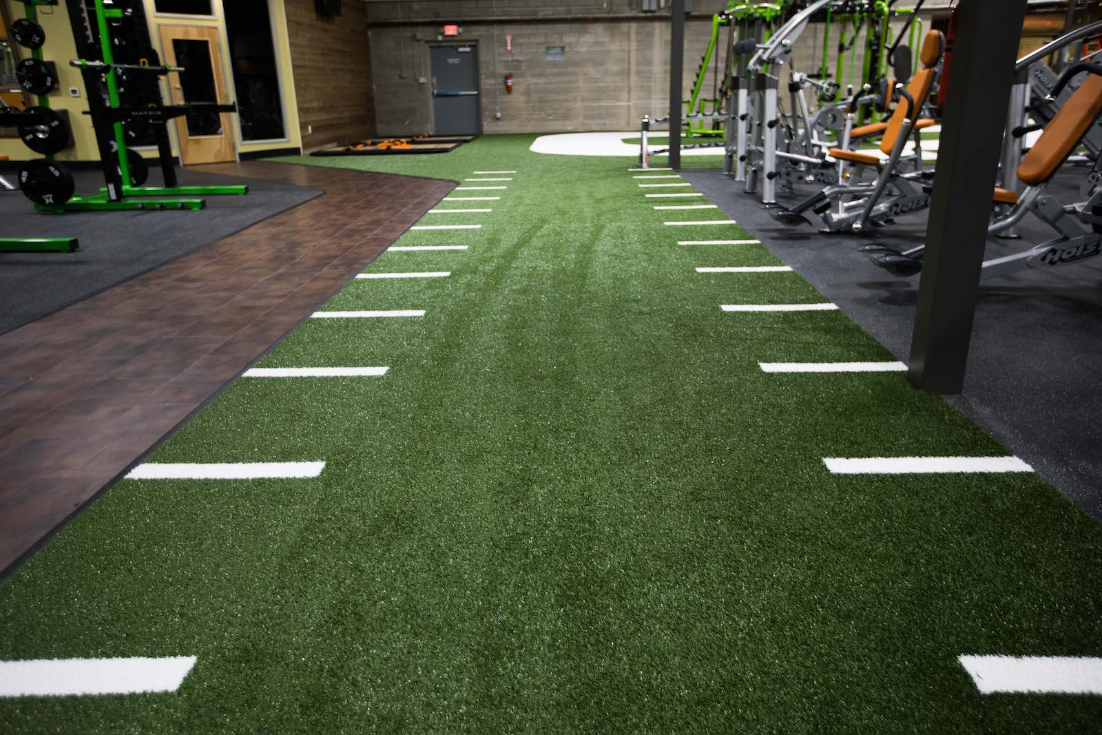Functional Training Space on our Indoor Turf