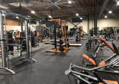 Over 60 pieces of strength training equipment at Physiq Keizer
