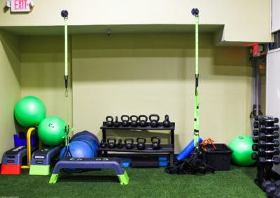 Team Training Equipment at Physiq Fitness in Downtown Salem